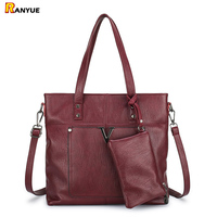 Shoulder Bag Women Purses And Handbags Big Capacity Totes Bag Set New Tide Ladies Messenger Clutch Bags Large Handbag Sac A Main