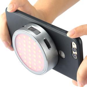 Image 5 - In Lager Godox R1 RGB Ring Licht Mini Kreative Licht Gebaut in Magent Led für Viedo Smartphone Foto Kamera Fotografie beleuchtung
