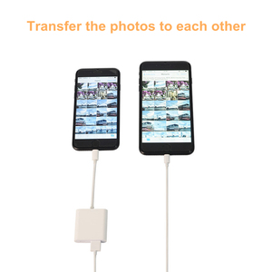 Image 5 - Reilim OTG Adapter for Lightning to USB 3 Camera Adapter OTG cable data converter for iPhone iPad iPod keyboard iOS 13 connector