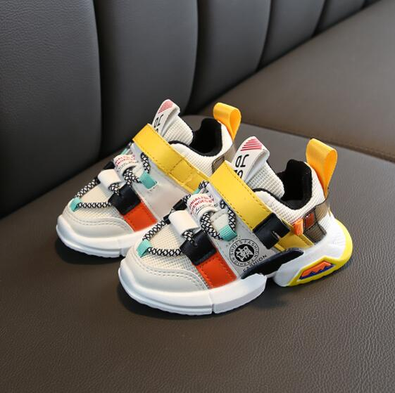 Kids Canvas Casual Shoes Boys Girls Sports Sneakers Children Running Breathable