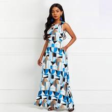 где купить Sisjuly Women Maxi Dress Color Block White Sleeveless Geometric Sexy Backless Elegant Long Party Floor Length Gown Dresses по лучшей цене