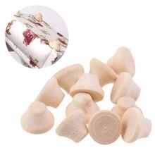 12pcs/lot 1:12 Dollhouse Miniature Wooden Sofa Feet Model Furniture Accessories