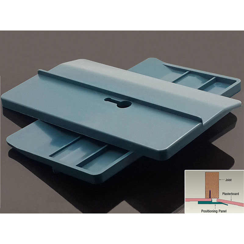 2pcs Ceiling Positioning Plate Supporting Drywall Fitting Carpenter Tool