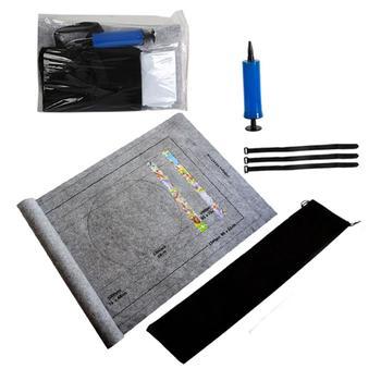 2000Pcs Puzzles Mat Jigsaw Roll Felt Mat Puzzle Accessories Play Mat Puzzles Blanket Portable Travel Storage Bag Supplies
