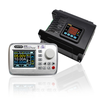 JUNTEK Fuente de alimentación DC-DC  - voltímetro DPM8650-485RF LCD de 2,4 pulgadas, 60V, 8A, 24A, 50A, módulo convertidor de corriente constante 1