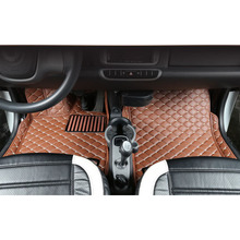 цена на lsrtw2017 leather car interior floor mat for smart fortwo 2007 2014 2013 2012 2011 2010 2009 2008 w451 451 accessories