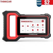 THINKCAR Thinkscan Plus S2 Diagnostic Tools OBD2 Scanner ABS Airbag ECM System Oil EPB DPF SAS TPMS AFS Reset Diagnostic Auto