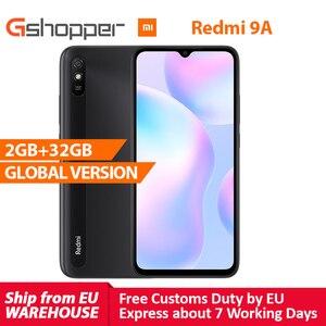 Глобальная версия Xiaomi Redmi 9A мобильный телефон 2 ГБ 32 ГБ MTK Helio G25 Восьмиядерный 6,53