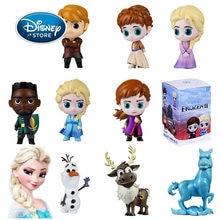 HOT 1 sztuk Disney mrożone 2 królowa śniegu Elsa Anna pcv figurka Olaf Kristoff Sven Anime lalki figurki zabawki dla dzieci dzieci prezent
