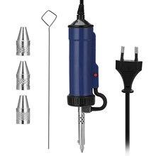 Fer à souder électrique Portable automatique ADT03, ventouse à étain, pompe à dessouder sous vide, Machine à dessouder