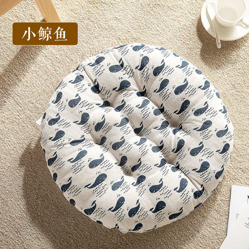 H5a2547725bdb40e1ac8841c61a235f3be New Seat Cushion Round Chair Cushion Breathable Seat Cushion Cat Pillow Fart Mat Outdoor Camping Seat Pad Thicken Chair Pad