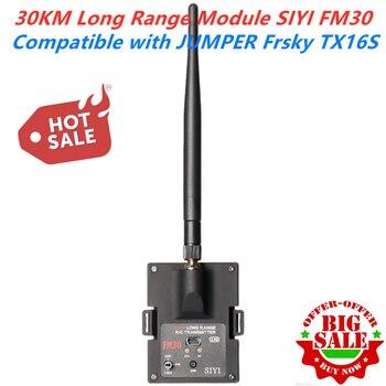 Радиомодуль SIYI FM30 дальнего радиуса действия 30 км с телеметрическим приемником Datalink, Bluetooth, передатчик OpenTX Racing Drones 2,4G FM30