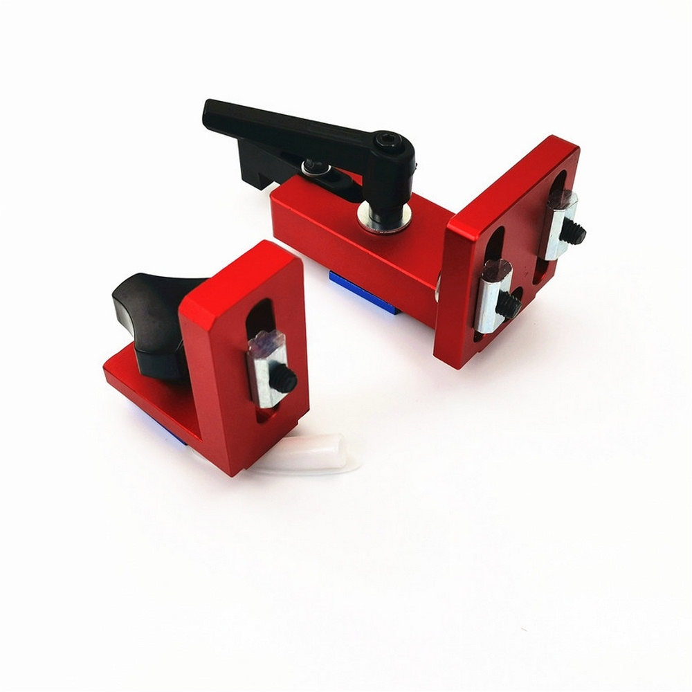 T-track Slot Connector 35 45 Sliding Brackets Red Serie Chute Woodworking Machinery Part Module T-Track T-stop Aluminium