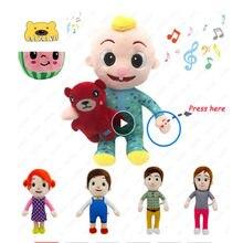 Jj Cocomelon Speelgoed Pop Cocomelon Jj Pop Zingen Kinderen Speelgoed Voor Jongens Cocomelon Bedtime Jj Muziek Pop Familie Kid Gift anime Plushie