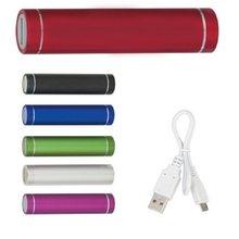 Batterie Externe de Secours Portable 2600 mAh, avec Micro USB, pour iPhone X 8 7 6