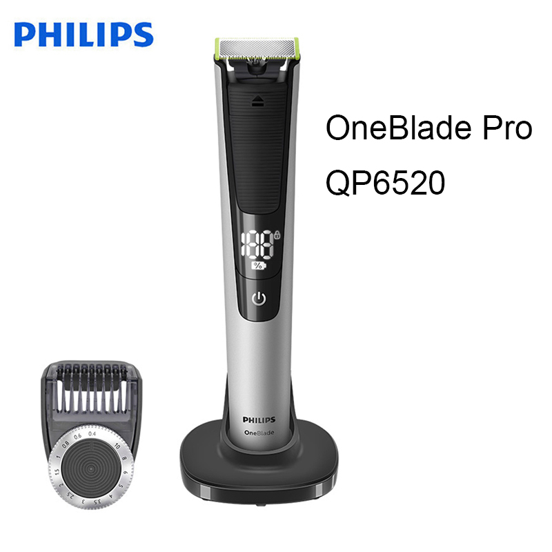 Philips Norelco OneBlade Hybrid Electric Trimmer and Shaver QP2520/70 NIB!
