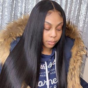 Image 2 - Queenlike 6*6 Vetersluiting En Menselijk Haar Bundels Met 6X6 Sluiting Braziliaanse Hair Weave Bundels Straight 3 Bundels Met Sluiting