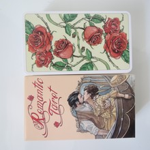 new Tarot deck oracles cards mysterious divination Romantic tarot cards for women girls cards game board game