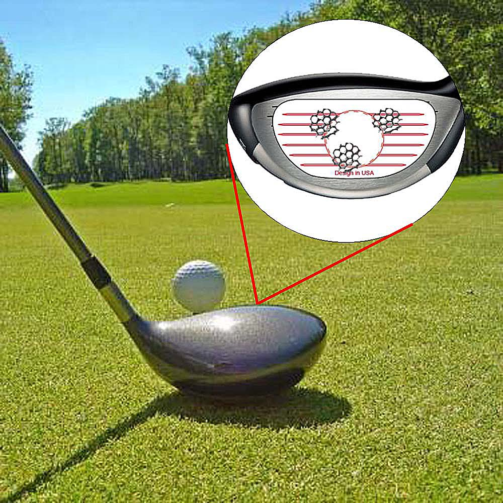 Golf Club Tape Lable Impact Target Sticker For Iron Woods Club Driver 125 Pcs Training Tools Golf Accessories Set Drop Shipping