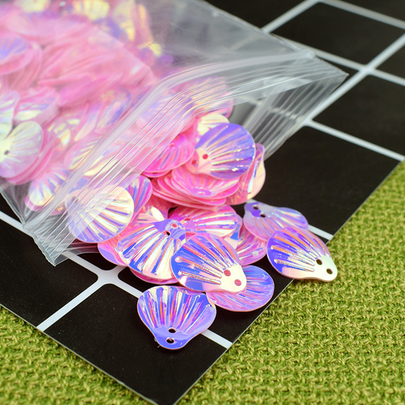 DIY Additives For Slices Modeling Clay Stuffing Pearl Shell Sequins Beauty Shell Mud Fill Glitter Slime Supplies Decoration