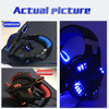 Gaming Headset Headphones with microphone Stereo Earphone Gaming Mouse Mice 4000 DPI Wired USB Optical for PC mosue pad gift discount