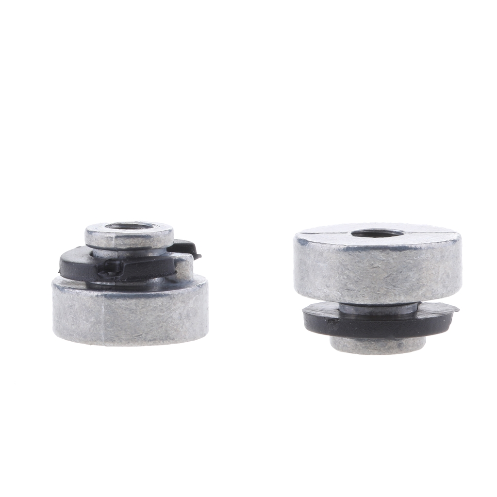 2pcs Motorcycle Aluminum Alloy Solo Seat Screw Bolt Mount Nut Replacement For Harley Sportster 1996-2017