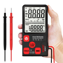 Ultra-Portable Digital Multimeter ADMS7 Large 3.5 LCD 3-Line Display Voltmeter AC DC Voltage NCV Resistance Ohm Hz Tester