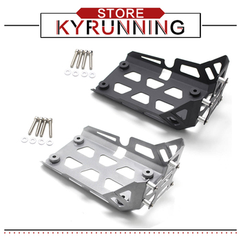 Motorcycle Accessories Aluminum Alloy Skid Plate Engine Guard Chassis Protection Cover For BMW G310GS G310R G310R/GS 2017-2018