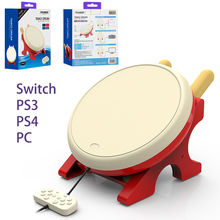 Dobe TV Kinect Gaming Drum For NS Joy-Con video game Taiko Drum For PS3 PS4 PC Nintend Switch NX NS Console game accessories