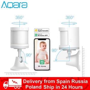 Aqara Human-Body-Sensor Gateway-Hub Mi Home Movement with Work Zigbee Ap Wireless