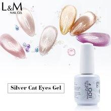 IDO Spar Cat Eye Nail Gel Lak Need Color Base Gold Silver Strong Magnetic UV Gel Polish Nail Art Shining Cat Eye Gel Lacque