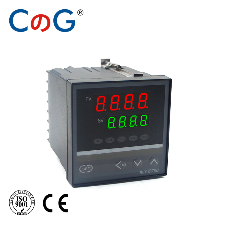 CG REX-C700 72*72mm 800 Degree Input K J PT100 0-10V 4-20mA PID Output SSR Relay 220V 24V 380V Thermostat Temperature Controller