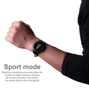 Image 5 - SCELTECH נשים חכם שעון IPS מסך עמיד למים דם לחץ ניטור מתכת Starp רב ספורט מצבי CF18 SmartWatch