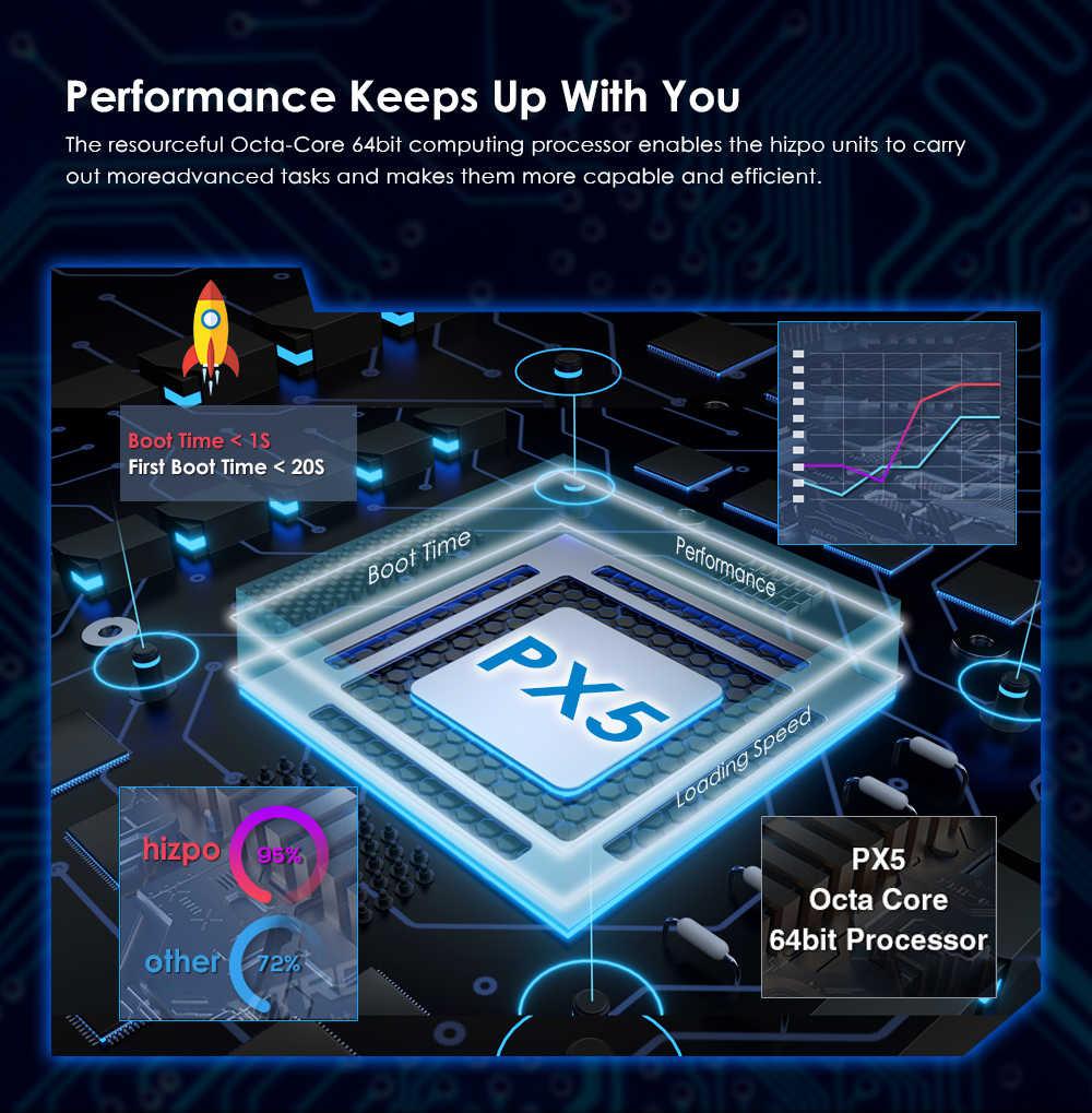 4 グラム PX5 アンドロイド 9.0 オートラジオカー 8 コア 7 インチ 2DIN ユニバーサル車なし DVD プレーヤー GPS ステレオオーディオヘッドユニットサポート DAB DVR OBD BT