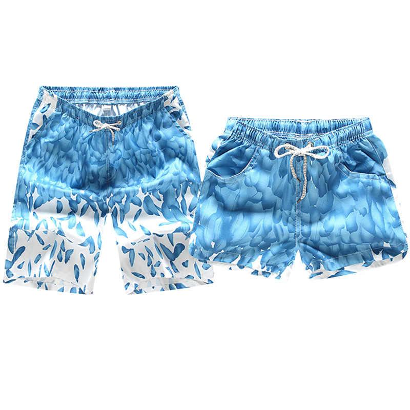 ¡Novedad de 2019! Pantalones cortos de verano para hombre y mujer, pantalones cortos holgados de estilo informal con estampado de Pantalones cortos de playa, Bermudas transpirables a la moda CYL14