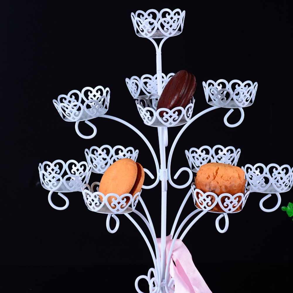 11 чашек торт Декор в форме рождественской ёлки инструменты для кексов (капкейков) Железный торт shelft для дня рождения Свадебная вечеринка оп