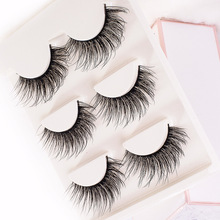 3 Pairs False Eyelash 3D Natural Long Eyelashes 3DX-Series