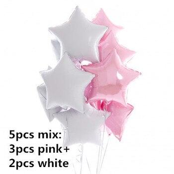 1PC 100*97CM Pink Horse Little Pony Unicorn Foil Balloons Helium Balloon Kids Toys Wedding Birthday Animal Party Decor Supplies 11