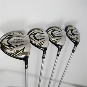Image 3 - 새로운 525 골프 클럽 혼마 BEZEAL 525 완료 세트 혼마 골프 드라이버 + 페어웨이 우드 + 아이언 + 퍼터/13Pcs 흑연 골프 샤프트 (가방 없음)