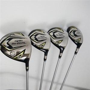 Image 3 - חדש 525 מועדוני גולף HONMA BEZEAL 525 סט שלם HONMA גולף נהג + Fairway עץ + מגהצים + להתבטל/13Pcs גרפיט גולף פיר (לא תיק)