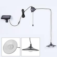 Pull-Switch-Light Garden-Lighting Solar-Lamp Remote-Control Outdoor LED Retro Waterproof