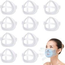 Mask Silicone-Bracket Washable for Comfortable Breathing Inner-Support-Frame Homemade