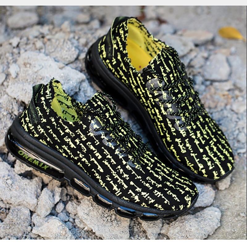 ONEMIX Spring Breathable Antislip Soft Running Shoes Men Sport Shoes Breathable Mesh Running Sneakers Women Shoes Big Size 5 12