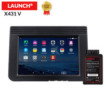 Starten X431 V 8 Volle System Auto Diagnose-Tool Unterstützung Bluetooth/Wifi 2 jahre update online OBD2 code reader X-431 V scanner(China)