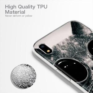 Image 3 - Ojeleye הסיליקון מקרה עבור Huawei P30 לייט מקרה רך TPU סיליקון טלפון כיסוי עבור Huawei P40 לייט P30 פרו Ascend p7 מקרי Coque
