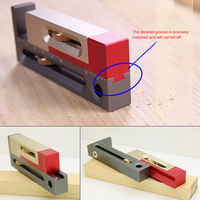 Woodworking Table Saw Slot Regulator Slot Ruler Make The Mortise and Tenon Movable Measuring Block Length Compensation Tool