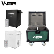 V-show 2pcs With Case 650W Cold Spark Machine Wedding Indoor Special Effect Machine For Dj Party Dmx Remote Control