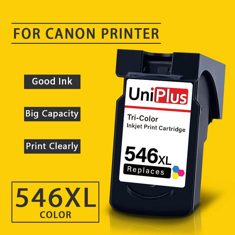 UniPlus CL546 Ink Cartridge Replacement for Canon CL 546 XL Colorful Ink Pixma MG2450 MG2550 2555S 2950 3050 3051 <font><b>3052</b></font> TS205 image