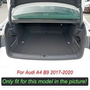 Image 3 - Custom หนังรถ Trunk สำหรับ Audi A4 B9 2017 2018 2019 2020ด้านหลังแผ่นถาดพรม Cargo liner อุปกรณ์เสริมอัตโนมัติ