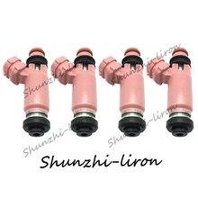 Inyector de combustible, boquilla de combustible para 550cc Subaru STI WRX Forester Impreza 2.5L 2.0L 195500 16611AA510, 16611AA510, 3910-1955003910 16611-AA510, 4 Uds.